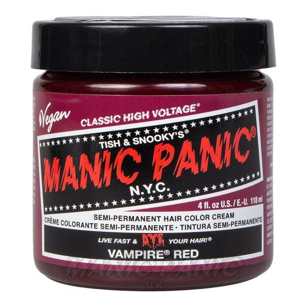 Manic Panic Coloration Semi Permanente Classic High Voltage 118ml (Vampire Red - Rouge)