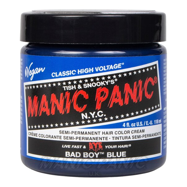 Manic Panic High Voltage® Classic Hair Colour 118ml (Bad Boy™ Blue)