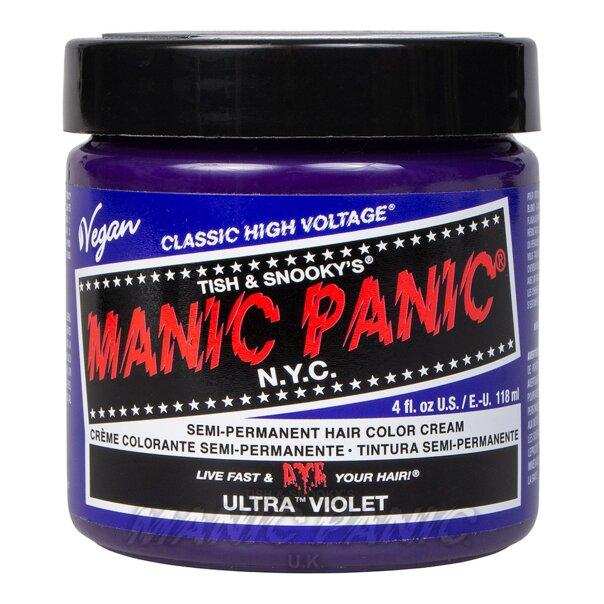 Manic Panic High Voltage® Classic Hair Colour 118ml (Ultra™ Violet Blue)
