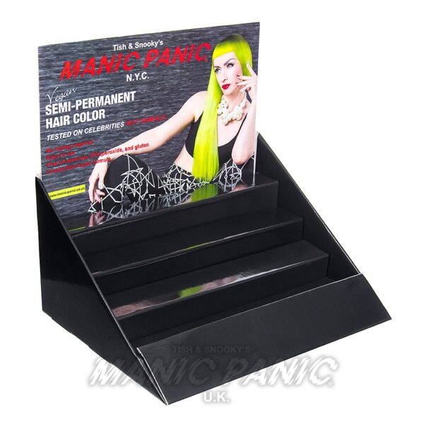 Manic Panic 24 Piece Countertop Display Unit (Without Colour Swatch)