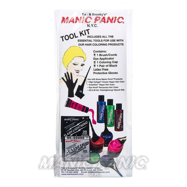 Manic Panic Haarfärbezubehör Set