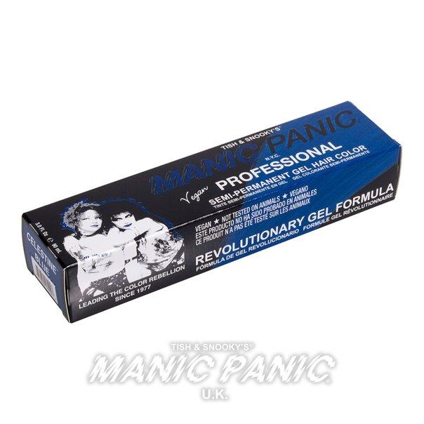 Manic Panic Gel de Coloración Capilar Semi-Permanente Profesional (Celestine Blue - Azul)