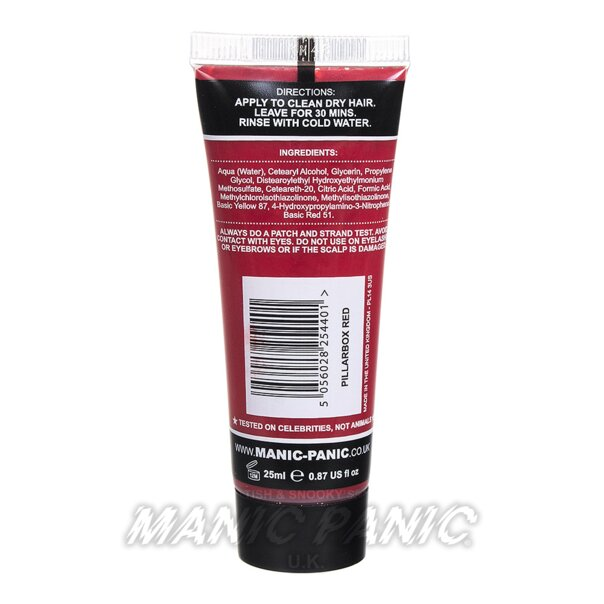 Manic Panic High Voltage® Classic Hair Colour 25ml (Pillarbox Red)