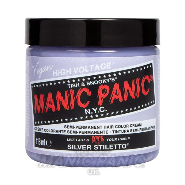 Manic Panic High Voltage® Classic Hair Colour 118ml (Stiletto Silver Toner)