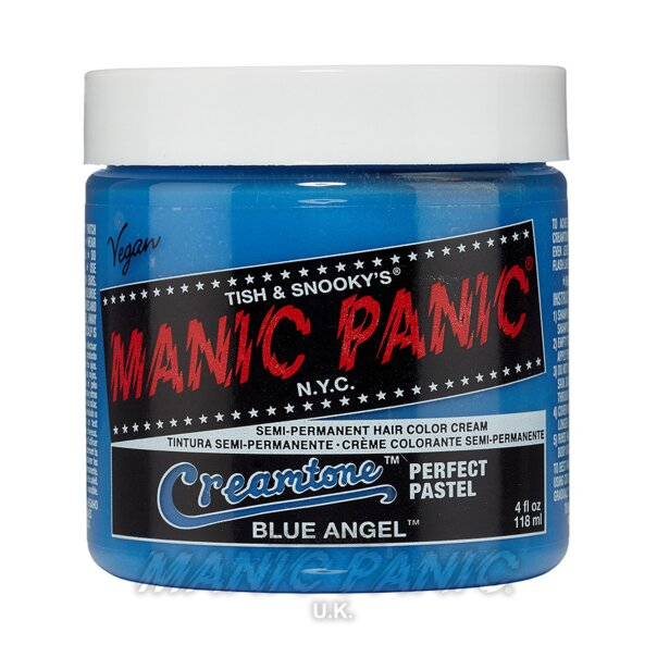 Tintura Per Capelli Creamtones Perfect Pastel Colour Manic Panic  118ml (Blue Angel - Blu)