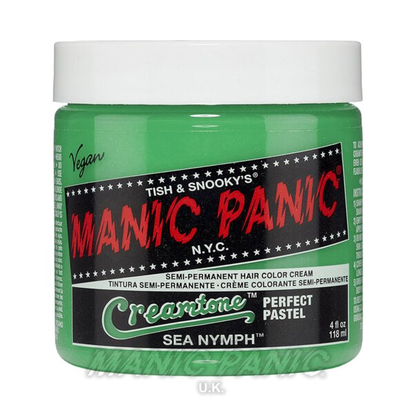 Manic Panic Creamtones Perfect Pastel Haarfarbe 118ml (Sea Nymph – Grün)