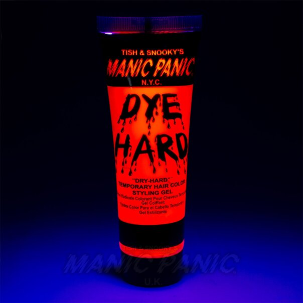 Manic Panic Dye Hard® Temporary Hair Color Styling Gels (Electric Lava™)