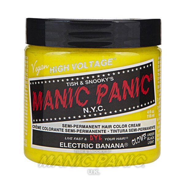 Manic Panic Coloration Semi Permanente Classic High Voltage 118ml (Electric Banana - Jaune)
