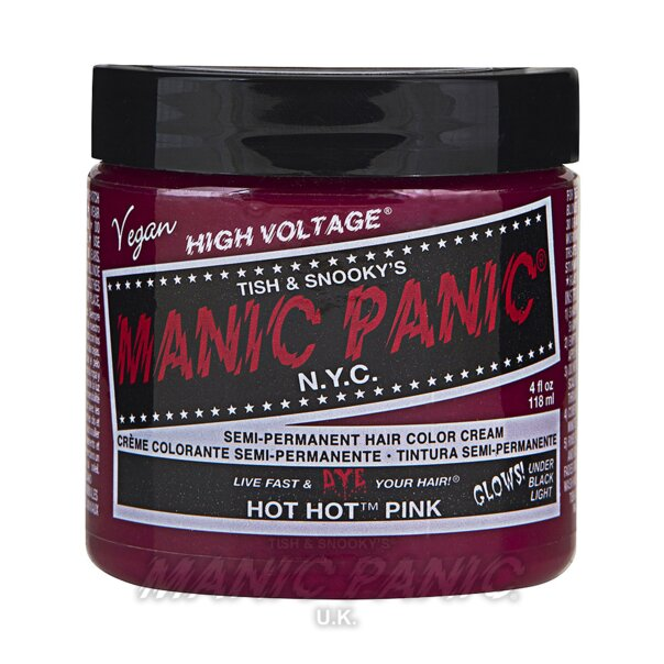 Manic Panic Coloration Semi Permanente Classic High Voltage 118ml (Hot Hot Pink - Rose Vif)