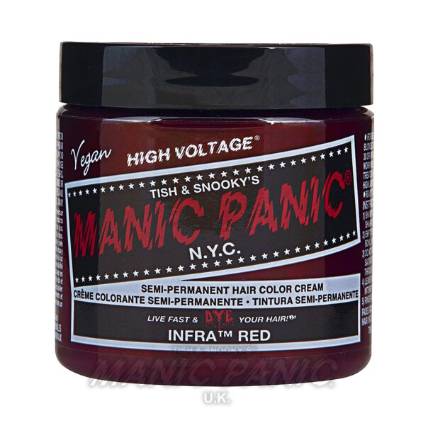 Manic Panic Coloration Semi Permanente Classic High Voltage 118ml (Infra Red - Rouge)