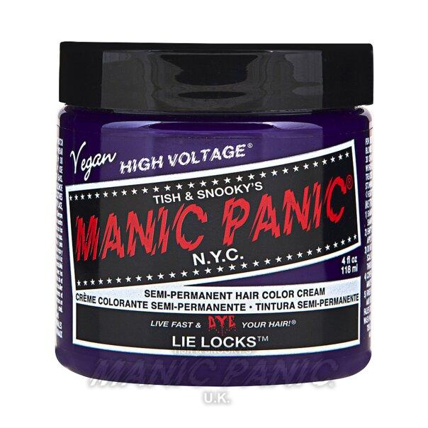 Manic Panic High Voltage Classic Tinte Capilar Semi-Permanente 118ml (Lie Locks - Violeta)
