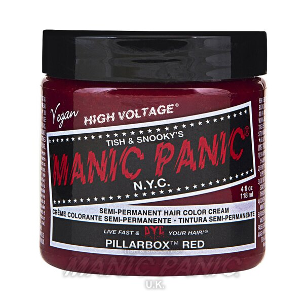 Manic Panic Coloration Semi Permanente Classic High Voltage 118ml (Pillarbox Red - Rouge)