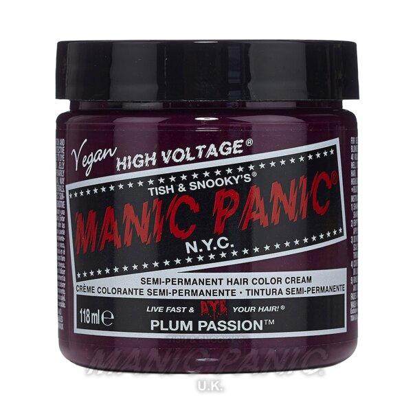 Manic Panic High Voltage Classic Tinte Capilar Semi-Permanente 118ml (Plum Passion - Violeta)