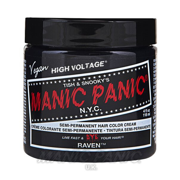 Manic Panic High Voltage Classic Haarfarbe 118ml (Raven - Schwarz)