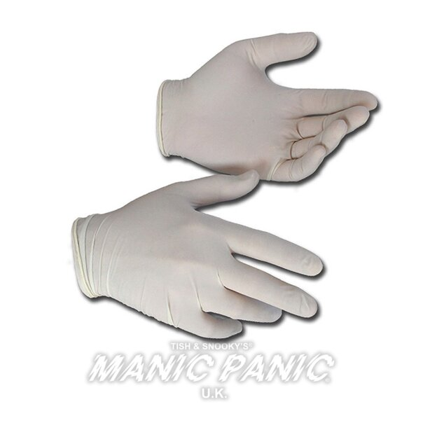 Manic Panic Hair Dye Vinyl Medium Gloves x 100
