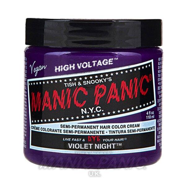 Manic Panic High Voltage® Classic Hair Colour 118ml (Violet Night™)