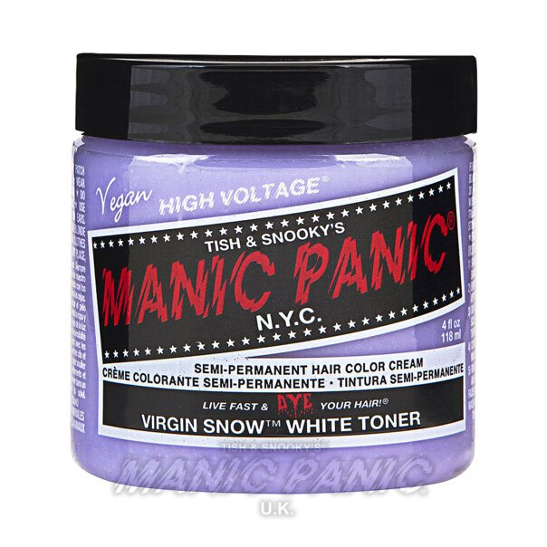 Manic Panic High Voltage Classic Haarfarbe 118ml (Virgin Snow Toner - Weiß)